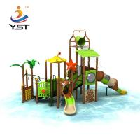 Sea Sailing Series Kids Water Slide , Stable Outdoor Playground Equipment