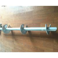 Wholesale Hot Dip Galvanized Helical Pile Foundations Ground Screw Pole Anchor from china suppliers