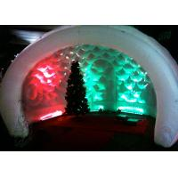 Buy cheap Semicircular Booth, Advertising Inflatable Tent with LED Light from wholesalers