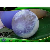 Wholesale Blue Inflatable Pluto Ball Inflatable Planet Balloon With Light from china suppliers