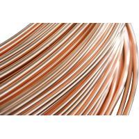 Wholesale Refrigeration Copper Tube , Single wall  Steel Pipes 4.76 * 0.65 mm from china suppliers
