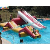 China Inflatable water game with durable 0.9MM PVC tarpaulin, Repir kits for Water Park on sale