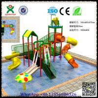 Kids Water Slides Plastic Water Slide Equipment for Wholesale