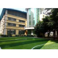 Wholesale Abrasive Resistance Playground Synthetic Grass 5 / 8 Inch Gauge Green Color from china suppliers