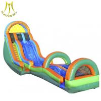 China Hansel children's entertainment equipment water park inflatable water slide inflatable on sale