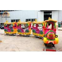 Wholesale Indoor And Outdoor Amusement Train Rides 40 M Track Length Easy Operating from china suppliers