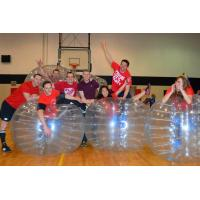 Buy cheap Human Sized Inflatable Bubble Soccer Ball / Hamster Ball Transparent Durable from wholesalers