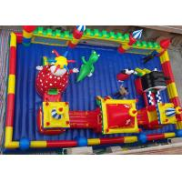 Wholesale Children Inflatable Amusement Park Combo / Inflatable Toys For Commerial Business from china suppliers