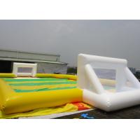 Wholesale Family Inflatable Soccer Field Sports Equipment With 0.45mm - 0.55mm PVC from china suppliers