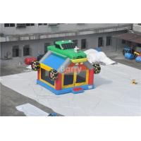 Commercial Giant Bouncy Castle Funny Construction Car / Truck Inflatable Bounce House