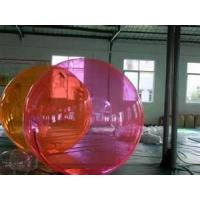 China 0.9mm PVC Anti-UV Colorful Dia 2m Inflatable Water Walking Ball, Water Balls YHWB-019 on sale