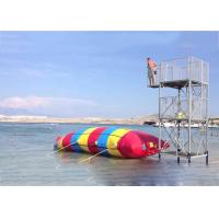 China Inflatable Water Pillow , Inflatable Rainbow Water Blob For Water Sports on sale