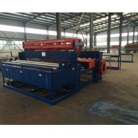 Wholesale Construction Mesh Wire Mesh Welding Machine / Fully Automatic Welded Grid Panel Machine from china suppliers
