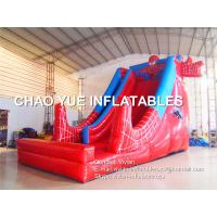 Wholesale Customized Spiderman Inflatable Slide Silk Paintings For Outdoor Water Park from china suppliers