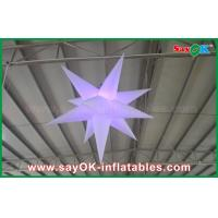 China Wedding Party Event Stage Decoration Solar Inflatable Lighting Led Star on sale