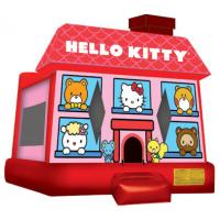 Wholesale Hello Kitty Bounce House  13'W x 13'L (+ Step) x 12'H from china suppliers
