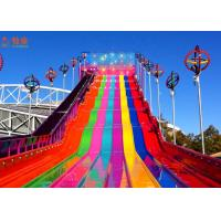 Wholesale Funny And Exciting High Speed Slide ,  Fiberglass Water Slide Customized Color from china suppliers