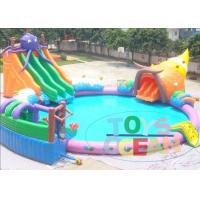 Wholesale Lager Colored Rental Inflatable Water Toys For Lake Waterproof Durable from china suppliers
