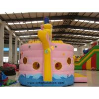 China Boat Shape Inflatable Bounce House Combo 7×4Meter  Inflatable Boat Shape Children Castle on sale