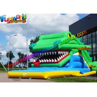 Wholesale Adults Inflatable Crocodile Slide Commercial Outdoor Dry Slide Giant from china suppliers