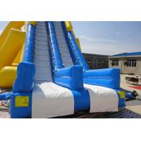 Wholesale Big Inflatable Commercial Water Slides , Children Amusement Park Water Slides For Holiday Resort from china suppliers