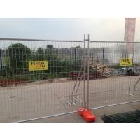Wholesale Q235 Steel Temporary Fencing , Site Security Fence Panels High Strength from china suppliers