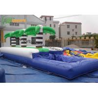 China Customized Large Outdoor Inflatable Water Slide , Bounce Water Slide For Rentals on sale
