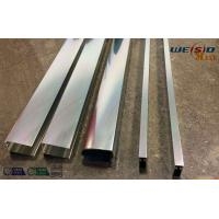 Wholesale Sliver Mirror Polished Aluminium Profile For Bacony Rail Polished Aluminum Extrusion Profiles from china suppliers