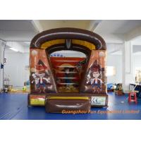 Wholesale Air Fun City West Wild Shoot Out Inflatable Bouncy Castle 3 * 3m Customized from china suppliers