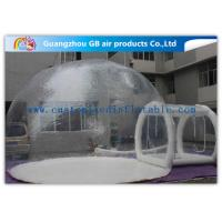China Transparent PVC Inflatable Lawn Tent Bubble Clear Dome Tent for Camping on sale
