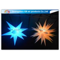 China Indoor Colorful Star Inflatable Lighting Decoration Advertising For Event on sale
