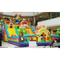 Wholesale 14*7m Outdoor Recreation Large Inflatable Slide Castle from china suppliers