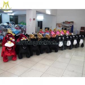 Wholesale Hansel plush animals motorized walking stuffed animals Shopping Mall Animal Rides from china suppliers