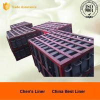 Retension Ring Liners / Cement Mill Liner Plates Hardness HRC52 Coal-fired Power Plant