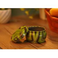 Quality Refillable Tin Can Tea Light Holder Tin Candle Containers Lead Free for sale