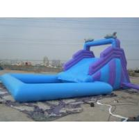 China Fire Retardant 0.55mm PVC customized  inflatable bouncer rental slide for  party on sale
