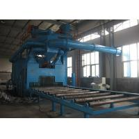 Buy cheap Rust Removal Shot Blast Cleaning Equipment Custom Colors With 11KW Turbine Power from wholesalers