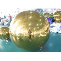 Wholesale Decoration PVC Material Inflatable Mirror Balloon For Bars , Concerts from china suppliers