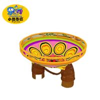 Wholesale Custom Indoor Obstacle Course Equipment Spong Nylon Rope Course Wood Material from china suppliers