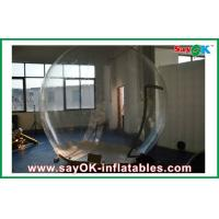 China Giant Outdoor Transparent Caming Tent / Inflatable Bubble Tent on sale