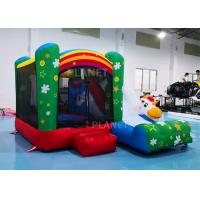 Wholesale Family Mini Inflatable Bounce House For Backyard Rainbow Color from china suppliers