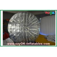 China Entertainment  Zorb Ball / Transparent TPU Inflatable Grass Rolling Ball on sale