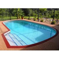 Wholesale Anti - Slip Pool Rubber Flooring , Playground Fragmented EPDM Granules Flooring from china suppliers