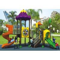 Wholesale 2015 kids outdoor playground with plastic slide from china suppliers
