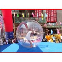 Wholesale 1.8m Clear Inflatable Water Ball Water Running Ball Waterproof / UV Resistant from china suppliers