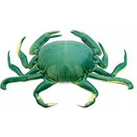 Giant Inflatable Green Crab And Inflatable Product Replica For Advertising
