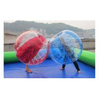 Wholesale Hot promotion PVC/ TPU inflatable soccer bubble suit from china suppliers