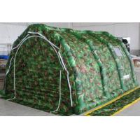 China Camouflage Inflatable Camp Tent With Pump on sale