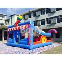 Wholesale 0.55mm PVC Kids Inflatable Outdoor Playground / Toddler Bounce House from china suppliers