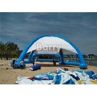 Wholesale Outdoor Airtight Big Inflatable Dome Tent For Event , Inflatable Beach Tent from china suppliers